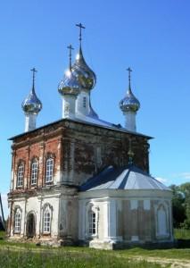 ц. Троицы Живоначальной села Назорное. Росписи Михаила Медведева