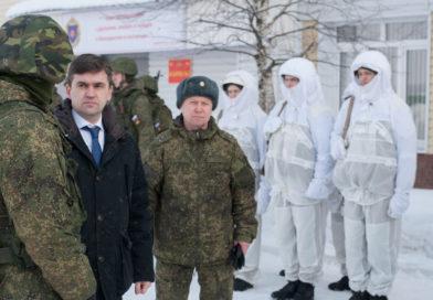 Станислав Воскресенский посетил Ивановский гвардейский полк 54-й ракетной дивизии, дислоцирующийся в Тейковском районе