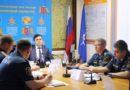 Глава региона принял участие во Всероссийском селекторе по предупреждению чрезвычайных ситуаций