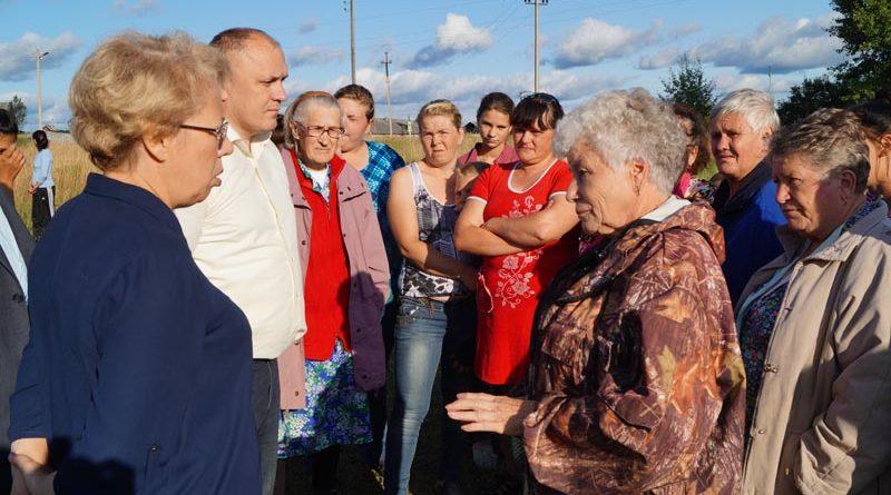 Встреча главы Тейковского района с жителями Новолеушинского поселения