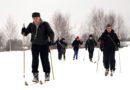 Ребята из индустриального колледжа совершили очередной лыжный поход