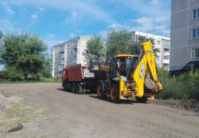 В Тейкове продолжаются работы по благоустройству общественных территорий
