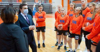 Ивановские спортсмены приступили к тренировкам в новом Дворце игровых видов спорта