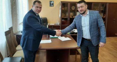 Виталий Катков встретился с новым главой Морозовского сельского поселения