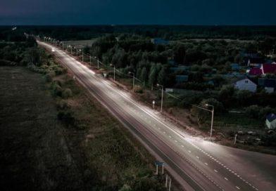 На региональной трассе Иваново-Тейково введены линии искусственного освещения