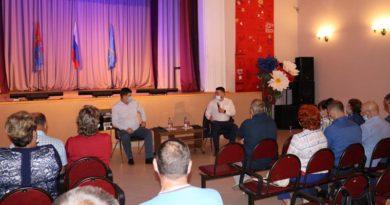 В Тейковском районе с рабочим визитом побывал Виктор Смирнов