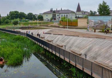 Свой День города Гаврилов Посад встретит с новой набережной
